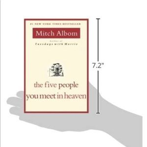 🌞THE FIVE PEOPLE YOU MEET IN HEAVEN MITCH ALBOM